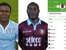 La promesa de la Lazio que aparenta más de 40 años fracasa... en el filial. Twitter/ManuHeredia