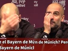 Quand Guardiola confond City et le Bayern. Capture/ASTV