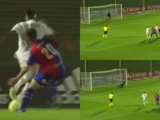 Rodrygo dejo escapar la victoria desde los once metros. Capturas/RealMadrid