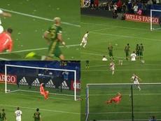 Penalti 'a lo panenka' de Ibra y tres puntos de oro. Capturas/MLS