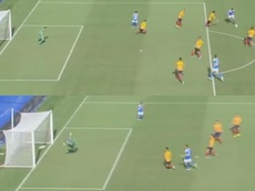 Fabián marcó otro golazo en la Serie A. Capturas/beINSports