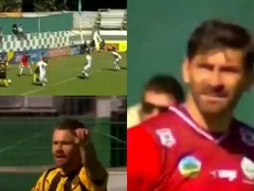 Peñarol respira y Defensor Sporting se enchufa. Captura/GolTV