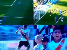 El sobrino nieto de Maradona debutó y marcó... ¡con River! Capturas/FoxSports