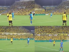 ¿El último gol en la carrera de Fernando Torres? Captura/ASTV