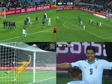 Meraviglioso goal di Suarez. DAZN/España