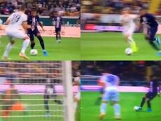 Mbappé no entiende de amistosos: golazo y asistencia en 20 minutos. Capturas/beINsports