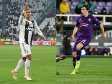 Douglas Costa and Federico Chiesa may well be at different clubs by the end of the season. AFP/EFE