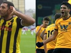 Two top scorers meet in FA Cup semi-final. Twitter/WatfordFC/AFP