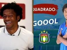 Quadrado hizo su debut con el Sao Caetano. EFE/SaoCaetano