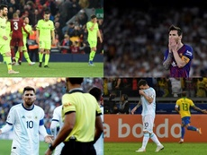 Messi and his two months long nightmare. AFP/EFE