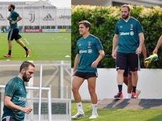 Dudas acerca de una foto del estado físico de Higuaín. Juventus