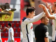 Las cinco parejas de moda en el fútbol europeo. AFP