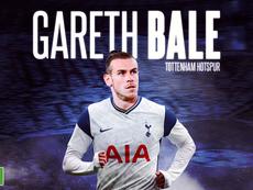 Bale é emprestado ao Tottenham. BeSoccer