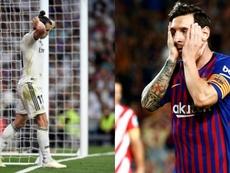 Real Madrid y Barcelona, exigidos este fin de semana. EFE