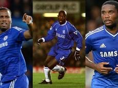Drogba is the top African scorer. EFE/Chelsea