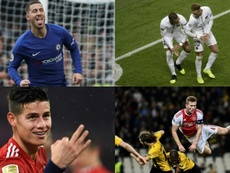 Hazard and James are some of those who could leave. EFE-AFP