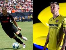 Héctor Herrera y Alberto Moreno formarían parte de la alineación. EFE/Villarreal