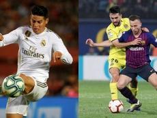 Real Madrid e Barcelona iniciam sua participação na Copa do Rei. AFP/EFE