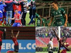 Así quedan las semifinales de la Copa Colombia 2019. DepCali/DIM/Tolima/Pasto