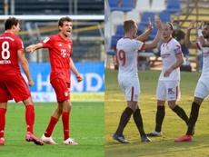 Prováveis escalações de Bayern de Munique e Sevilla. EFE