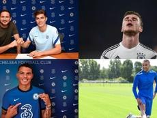 ¿Se puede volver a soñar con Havertz, Werner, Thiago Silva, Ziyech y cía? AFP - ChelseaFC
