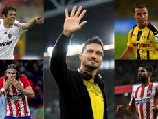Cinco estrellas que se arrepintieron de salir de sus equipos. EFE/AFP
