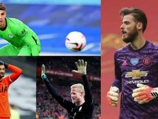 Estos son los 10 porteros mejor pagados de la Premier League 2020-21. EFE/AFP