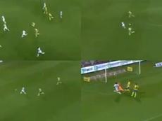 Hagi volvió a hacer magia con una asistencia de 40 metros. Capturas/ProLeague