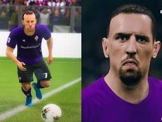 La gran diferencia entre FIFA y PES: ¡Ribéry se quejó en Twitter! Twitter/FranckRibéry/PES2020
