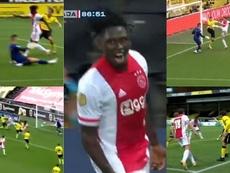 Ajax visitou o VVV Velo e balançou as redes 13 vezes. Captura