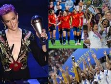 Los 10 hitos que hicieron del 2019 el año del femenino. AFP/EFE