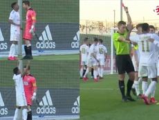 Irureta explicó la actitud de Rodrygo en su segunda amarilla. Capturas/EsporteInterativo