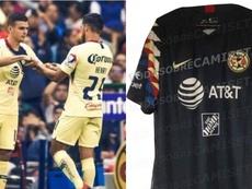 Esta podría ser la segunda camiseta del América. EFE/Todosobrecamisetas