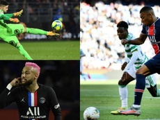 El XI estadístico de la Ligue 1. AFP