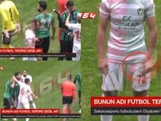 Mansur Çalar fue sancionado de por vida. Captura/TV264