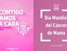 Juntos contra el cáncer de mama. Captura/Twitter