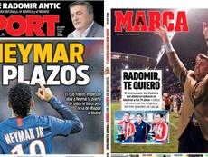 Portadas de la prensa deportiva del 07-04-20. Sport/Marca