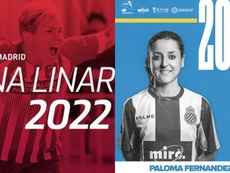 El Atleti renueva a Linari; el Espanyol, a Paloma Fernández. Atleti/Espanyol