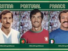 Los cromos más originales de la FIFA. Montaje/FIFA