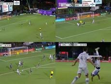 Clínic de Nani seis minutos. Capturas/MLS