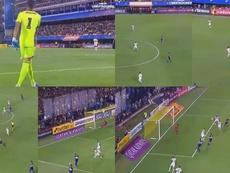 De Andrada a Salvio: el gol más guardiolista de Boca. Capturas/Libertadores