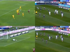 There were two great goals scored. Screenshot/BeINSports