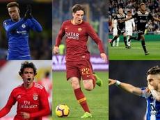 Los talentos que pueden debutar con sus selecciones. EFE/AFP