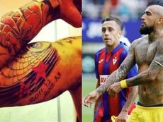 Vidal crée dejà la polémique à Milan. Instagram/kingarturo23oficial