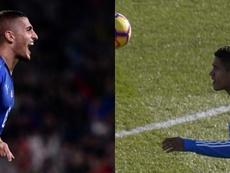 Varane e Verratti foram objetivos do Manchester United. AFP/EFE
