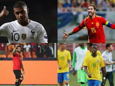 Ramos, Salah, Mbappé and the fears of playing Olympic Games. EFE - AFP