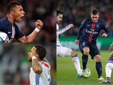 les joueurs à suivre en Ligue 1. AFP/EFE