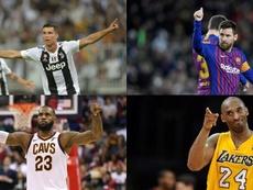 Satoransky colocou Messi acima de Cristiano. EFE