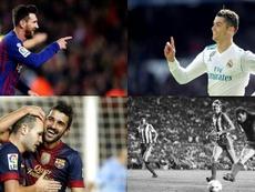 Messi est le meilleur buteur de Liga. EFE