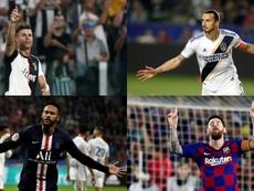 Los jugadores que más dinero ganan en Instagram. EFE/AFP